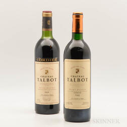 Chateau Talbot, 2 bottles