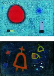 Vicente Pastor Plà (Spanish, 1932-1964)    Lot of Two Surreal Compositions
