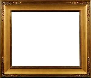 American School, 20th Century    Carrig-Rohane Arts & Crafts Style Frame with Foliate Corners