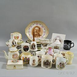Approximately Forty Royal Commemorative Items