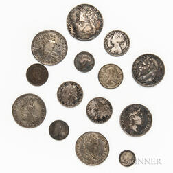 Small Group of World Silver Coins