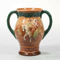 Royal Doulton Type Two George Washington Commemorative Two-handled Loving Cup