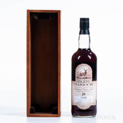 Glen Garioch 29 Years Old 1968, 1 750ml bottle (owc)