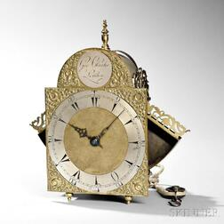 George Clarke Winged Lantern Clock for the Turkish Market