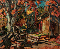 William Lester Stevens (American, 1888-1969)      Autumn Farm