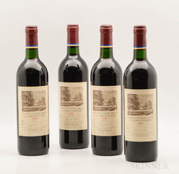 Chateau Duhart Milon 1988, 4 bottles