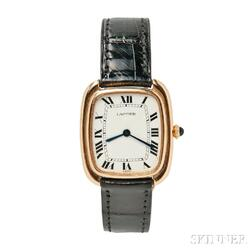 18kt Gold Wristwatch, Cartier