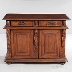 Renaissance Revival Carved Cabinet