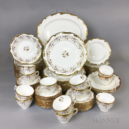 Coalport Oporto-pattern Bone China Dinner Service for Twelve