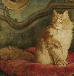 Marie Louise McComb (American, 20th Century)  Orange Long Hair
