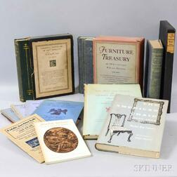 Group of Antique Furniture Reference Books and Auction Catalogs