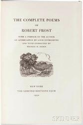 Frost, Robert (1874-1963) The Complete Poems  , Signed, Limited Edition.