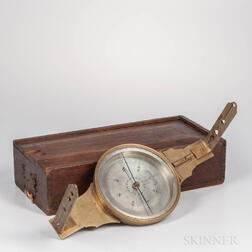Andrew Meneely Plain Surveyor's Compass