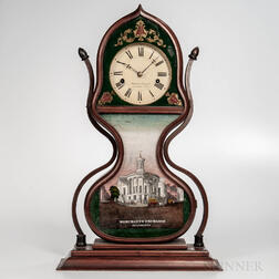 "J.C. Brown ""Acorn"" Shelf Clock"