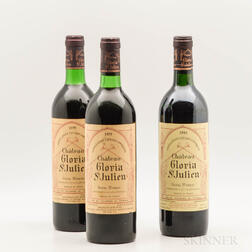 Chateau Gloria, 3 bottles