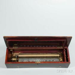 Sublime Harmonie Lever-wind Cylinder Musical Box