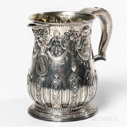 George II Sterling Silver Pitcher
