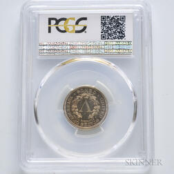 1885 Liberty Head Nickel, PCGS PR65.     Estimate $600-800