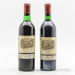 Chateau Lafite Rothschild 1977, 2 bottles