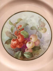 Set of Twelve Lenox China Fruit Plates