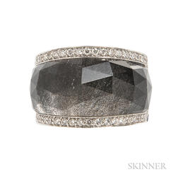 "18kt White Gold ""Chrystal Haze"" Ring, Stephen Webster"