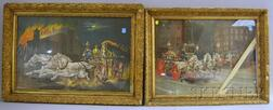 Two Framed Late 19th/Early 20th Century Firefighting Chromolithograph Prints