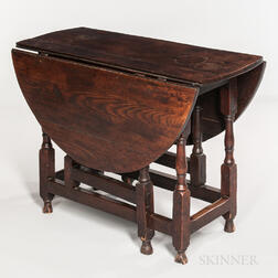 Oak Gate-leg Drop-leaf Table
