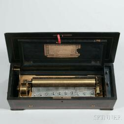 Lever-wind Piano Forte Cylinder Musical Box