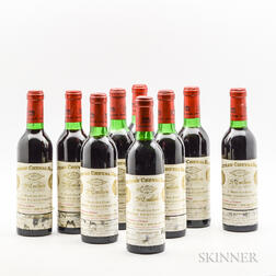 Chateau Cheval Blanc 1970, 9 demi bottles