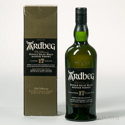 Ardbeg 17 Years Old, 1 750ml bottle (oc)