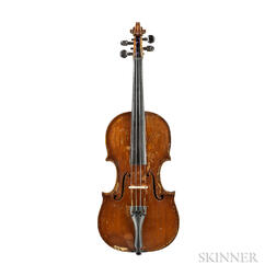 American Violin, Calvin Baker, Boston, 1873