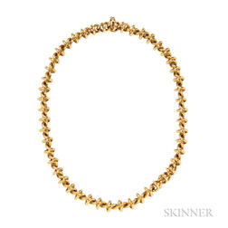 18kt Gold Spiral Necklace, Tiffany & Co.