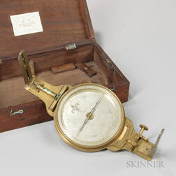 Andrew Meneely Surveyor's or Mining Compass