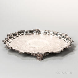 George IV Sterling Silver Salver