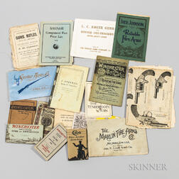Group of Antique Firearms Manuals and Advertising Items
