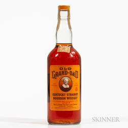 Old Grand Dad 5 Years Old 1961, 1 4/5 quart bottle