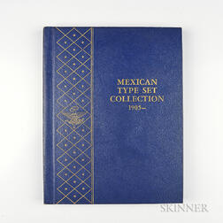 Partial Mexican Type Set Album.     Estimate $100-150