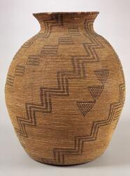 Southwest Coiled Basketry Olla