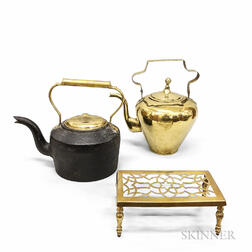 Two Kettles and a Trivet