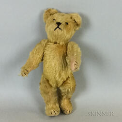 Vintage Blonde Mohair Teddy Bear