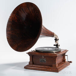 "Victor Model ""V"" Victrola Talking Machine"