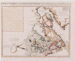 Canada and the Great Lakes, Five Maps, 18th Century.