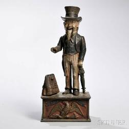 "Shepard Hardware & Co. ""Uncle Sam"" Mechanical Bank"