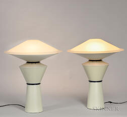 Pair of Arteluce Giada Table Lamps