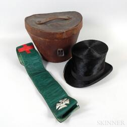 Young Brothers Hat and Leather Hatbox
