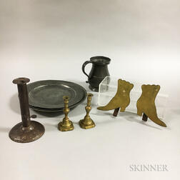 Group of Metal Decorative Items