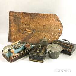 Small Group of Mostly Tin Kitchen Items