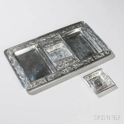 William Kerr Sterling Silver Tray