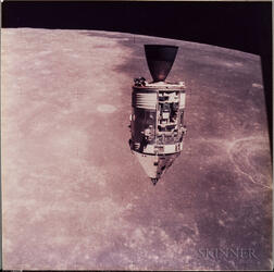 Apollo 15, A View of the Command Service Module in Lunar Orbit (NASA AS15-88-11972), July 30, 1971.