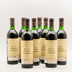 Chateau Gloria 1983, 8 bottles